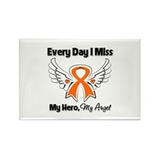 Kidney Cancer Miss My Hero Rectangle Magnet