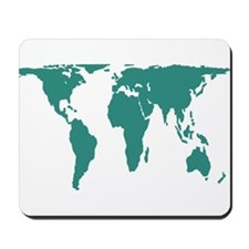 World Map Peters Projection Mousepad