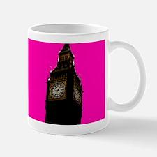 Pink Big Ben Mugs