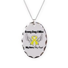 Ewing Sarcoma Miss Hero Necklace