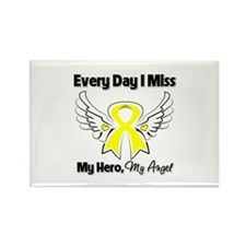 Ewing Sarcoma Miss Hero Rectangle Magnet (10 pack)