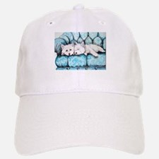 Westie Couch Potatoes Baseball Baseball Cap