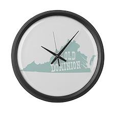 Virginia Large Wall Clock