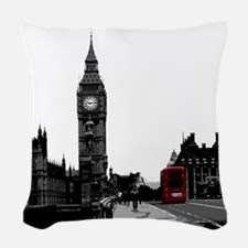 London Woven Throw Pillow