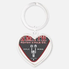 Smith Motor Cycle Co. Heart Keychain