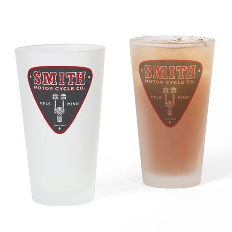 Smith Motor Cycle Co Drinking Glass By Listing Store 1823483