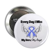 """Esophageal Cancer Miss Hero 2.25"""" Button"""