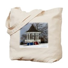Poland Springs Gazebo Tote Bag