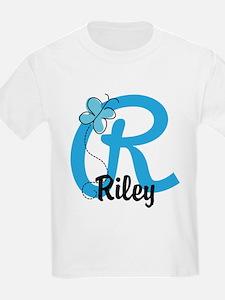 Personalized Initial R Monogram T-Shirt