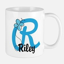 Personalized Initial R Monogram Mug