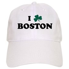 I Shamrock BOSTON Baseball Cap
