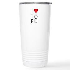 I Love ToFu Travel Mug
