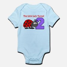 Little Lady Turned Two Body Suit