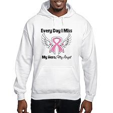 Breast Cancer Miss My Hero Hoodie