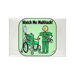 Nurse Multitask Rectangle Magnet