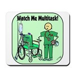 Nurse Multitask Mousepad