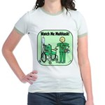 Nurse Multitask Jr. Ringer T-Shirt