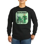 Nurse Multitask Long Sleeve Dark T-Shirt