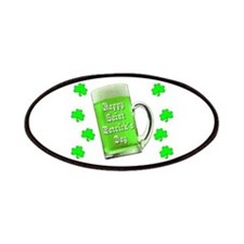 Shamrocks & Green Ale St. Patrick's Day Patches