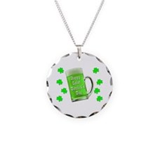 Shamrocks & Green Ale St. Pa Necklace