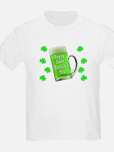 Shamrocks & Green Ale St. Patri T-Shirt