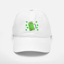 Shamrocks & Green Ale St. Patrick's Day Baseball Baseball Cap