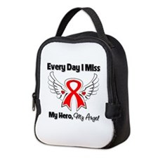Blood Cancer Miss My Hero Neoprene Lunch Bag