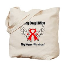 Blood Cancer Miss My Hero Tote Bag