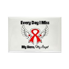 Blood Cancer Miss My Hero Rectangle Magnet