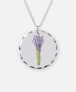 Bushel of Lavender Necklace