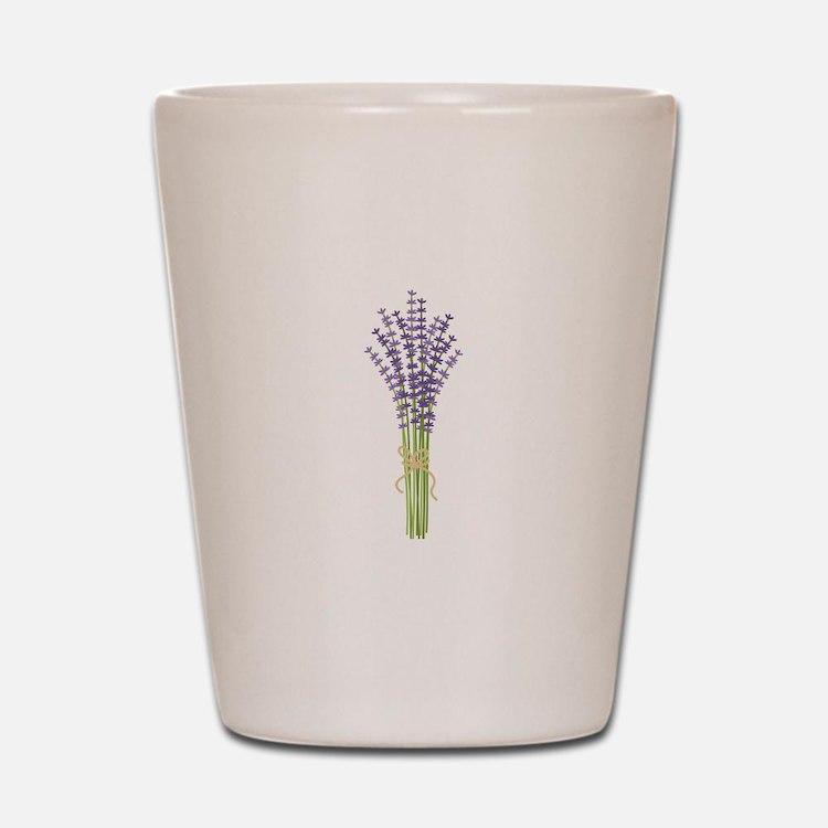 Bushel of Lavender Shot Glass