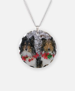 Shetland Sheepdogs in the Sn Necklace