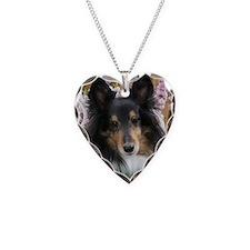 Tricolor Shetland Sheepdog Necklace
