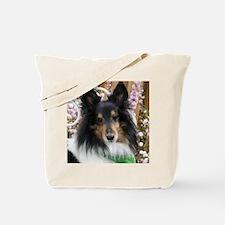 Tricolor Shetland Sheepdog Tote Bag