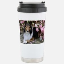 Shetland Sheepdog in th Stainless Steel Travel Mug
