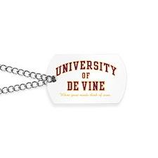 University of De Vine Dog Tags
