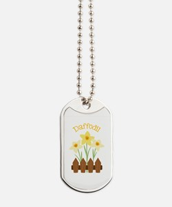 Daffodil Dog Tags