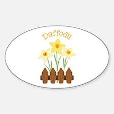 Daffodil Decal