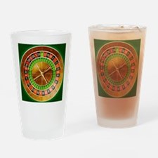 Roulette Table Drinking Glass