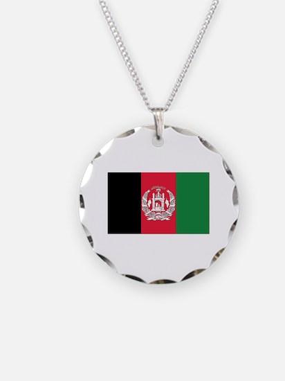 Flag of Afghanistan Necklace