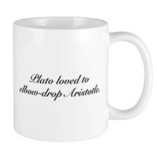 Plato and Aristotle Mug