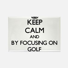 Keep calm by focusing on Golf Magnets