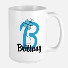 Personalized Initial B Monogram Mug