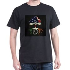 All American, Irish Roots Dark T-Shirt