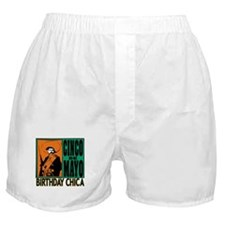 Cinco de Mayo Birthday Chica Boxer Shorts
