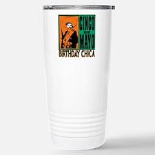 Cinco de Mayo Birthday Stainless Steel Travel Mug