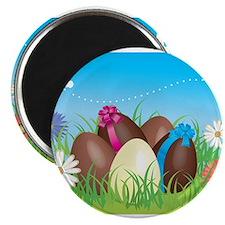 """Easter Eggs 2.25"""" Magnet (10 pack)"""