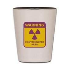 Contaminated Area Shot Glass