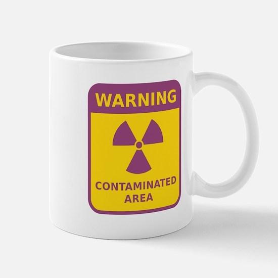 Contaminated Area Mugs