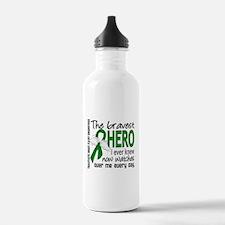 Bravest Hero I Knew TB Water Bottle